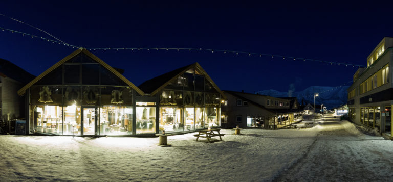 There is good shopping in Longyearbyen, so browsing the main street is worthwhile © LP Lorentzen
