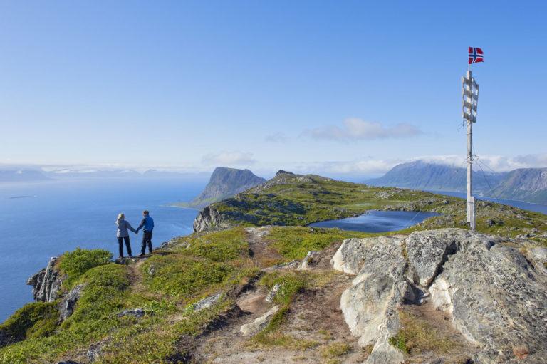 Toppen av Elgen på Elgsnes rett utenfor Harstad © Bård Løken