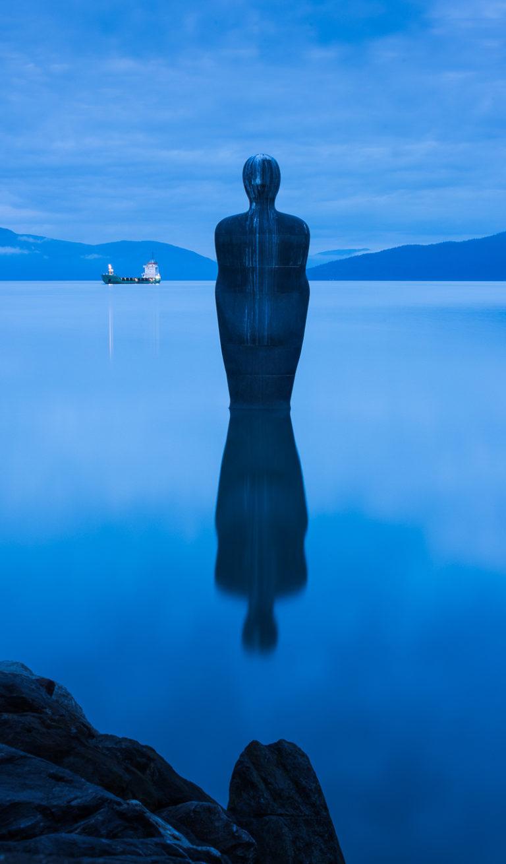 Havmannen, en del av Skulpturlandskap Nordland © CH/Helgeland Reiseliv