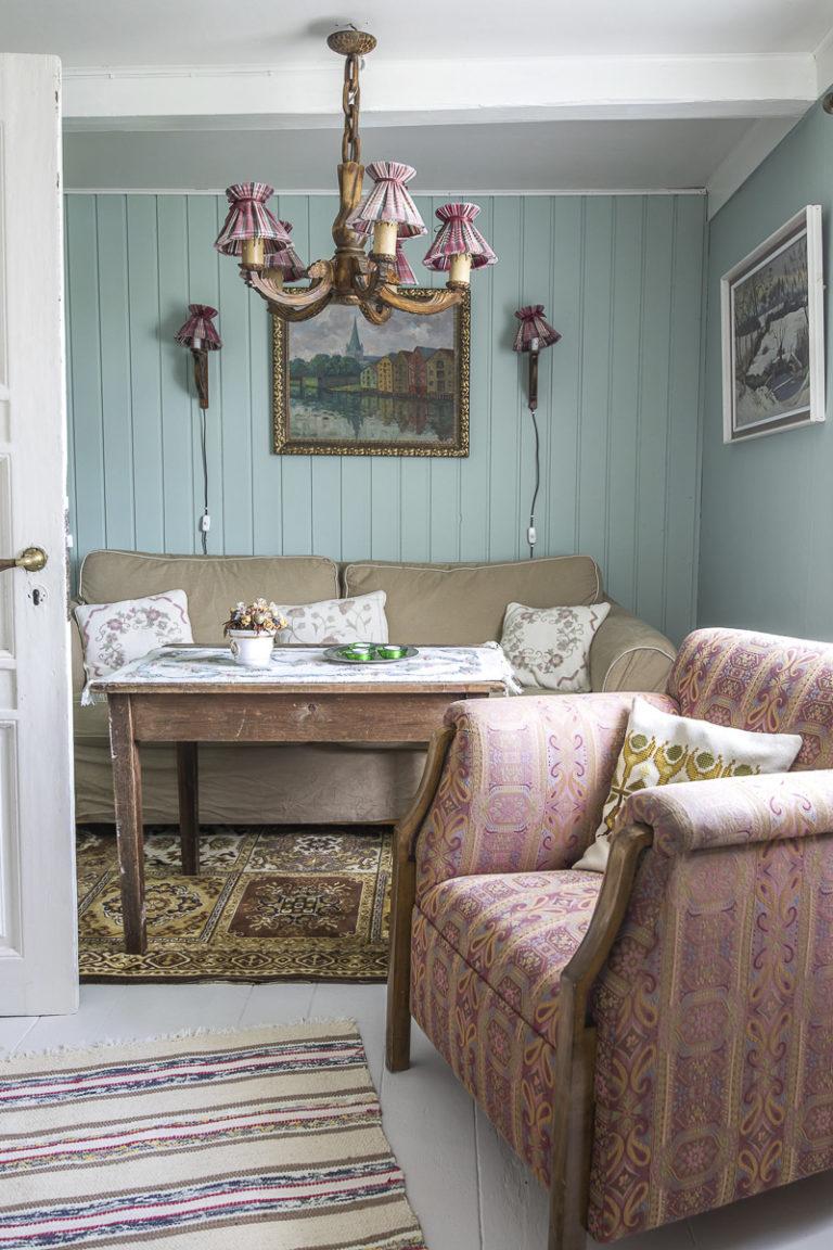 Komfortabelt og stilig på Halsgården © Kathrine Sørgård
