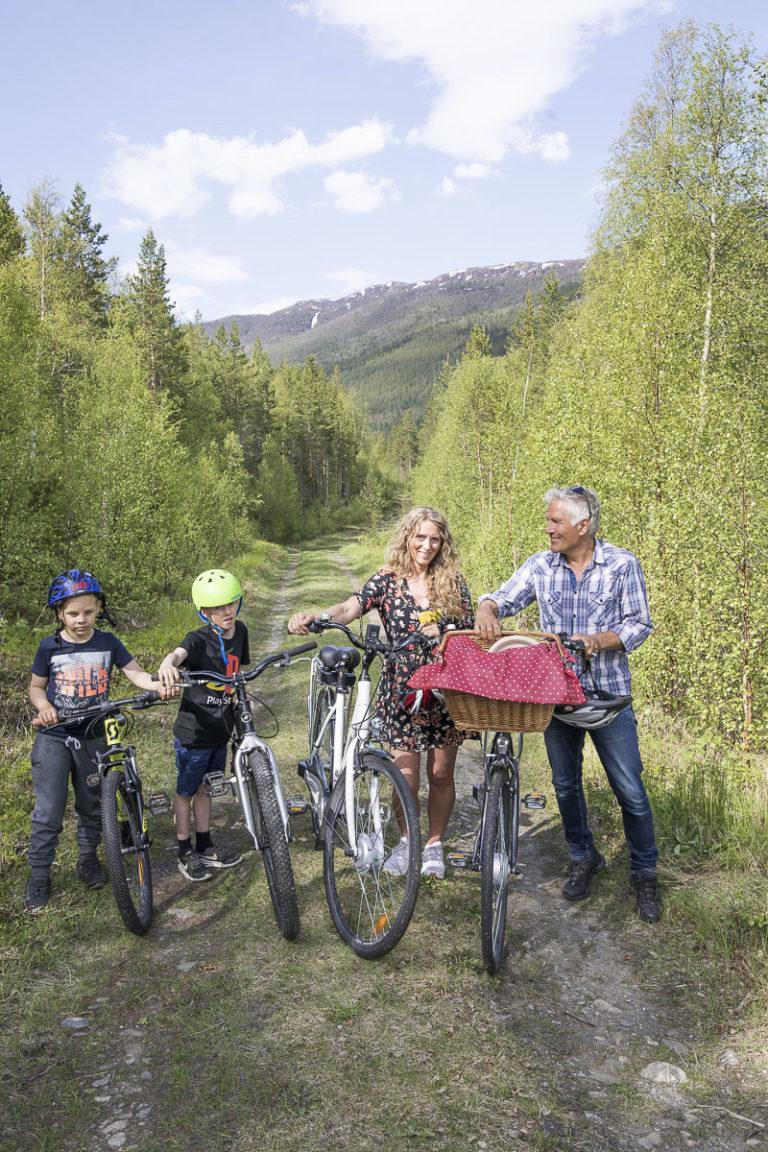 På vei til piknik © Kathrine Sørgård