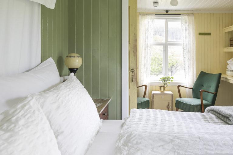 Rommene Storjord Hotell er herlige å våkne opp i! © Kathrine Sørgård