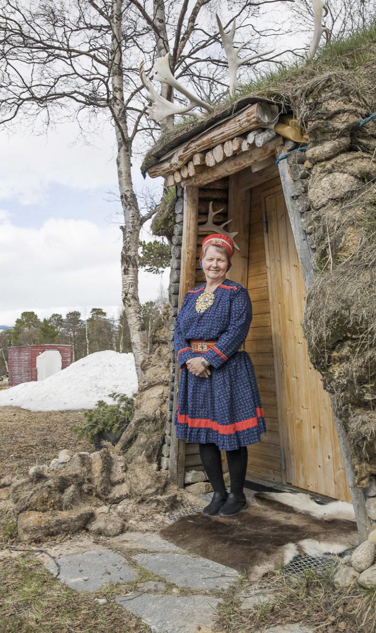 Velkommen inn i gammen © Katrine Sørgård