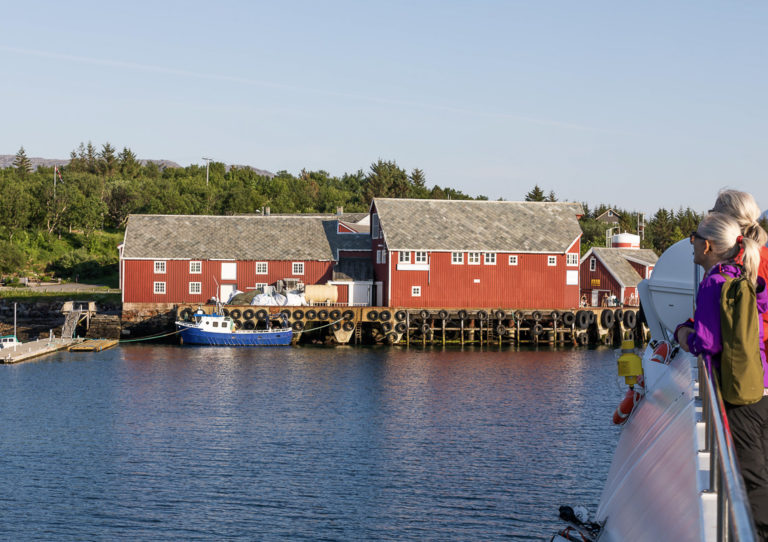 Rødmalt idyll på gammelt handelssted © Kathrine Sørgård