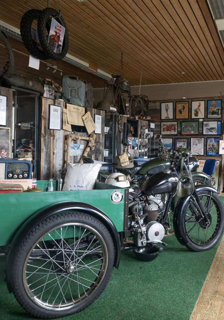 Årsgangskjøretøy hos Arctic Motorcycle Museum @ Kathrine Sørgård