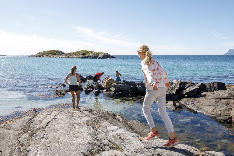 Strandhugg på Tomma © Kathrine Sørgård