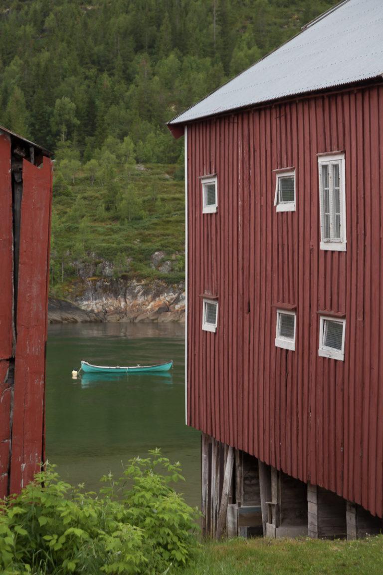 Glimt fra Sjøgato ned til Vefsna © Katrine Sørgård