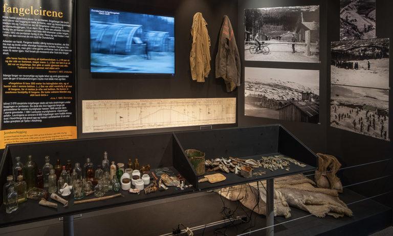 Krigsutstilling på Helgeland Museum avdeling Rana © Ketil Born