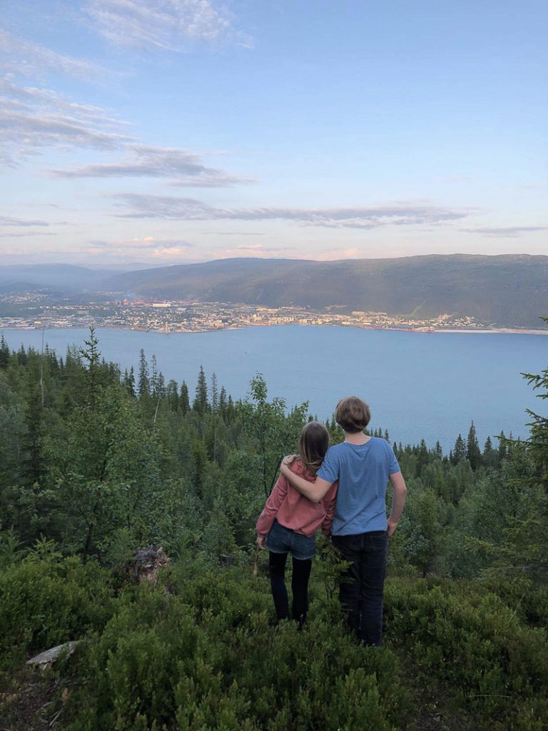 Blikk over Ranfjorden til Mo © Cecilie Nordvik