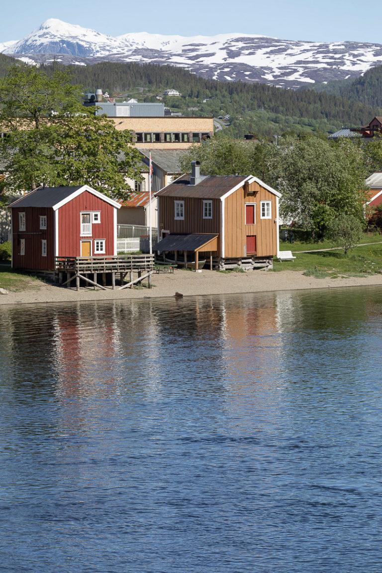 Fra Vefsna over Sjøgato til moderne Mosjøen til de store fjellene i innlandet © Kathrine Sørgård