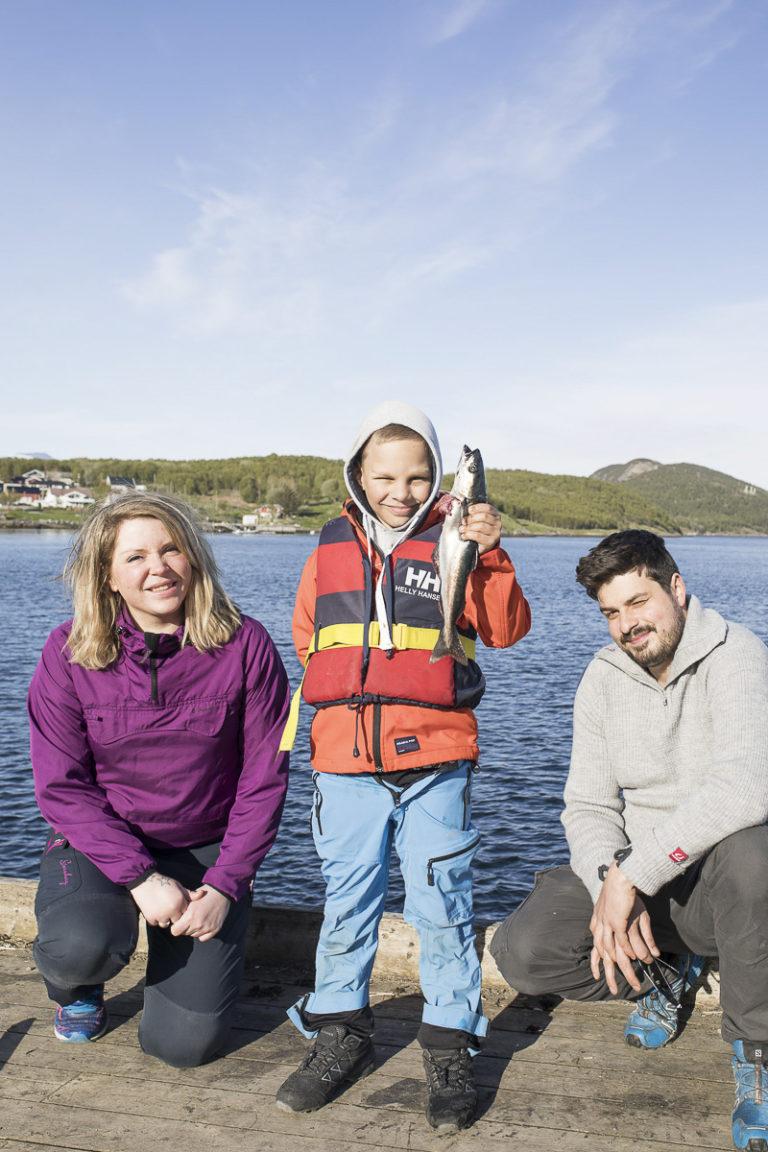 Fisk får du i Saltstraumen  © Kathrine Sørgård