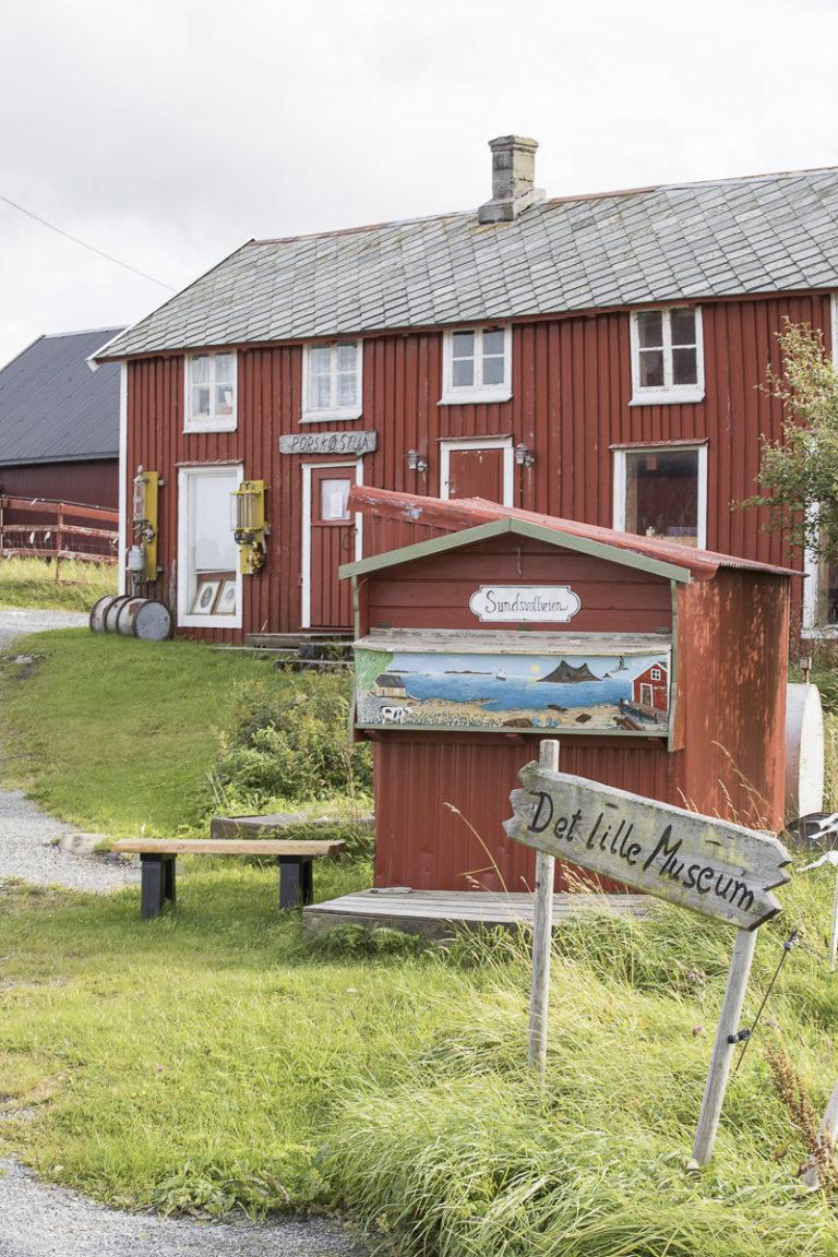Et herlig privat initiativ du kan stoppe ved på vei ut til Havhotellet © Kathrine Sørgård