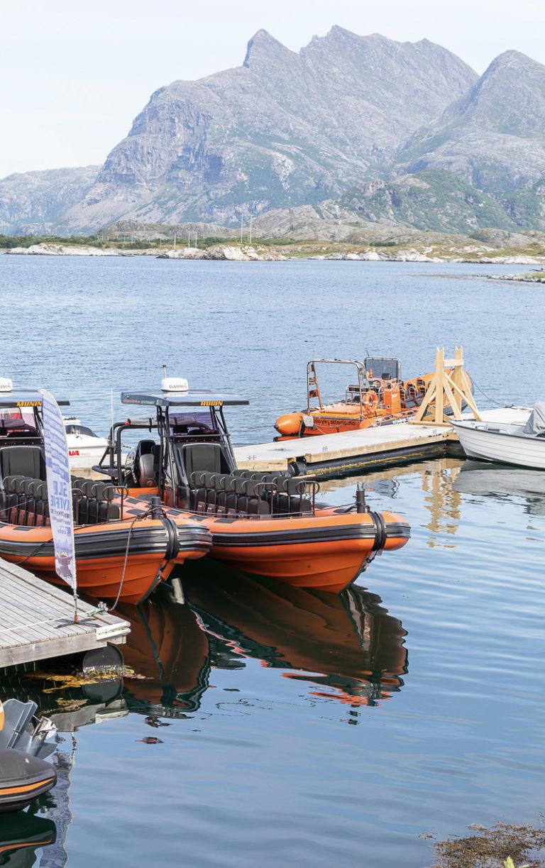 Klart til å dra på tur med Seløy Kystferie © Katrine Sørgård