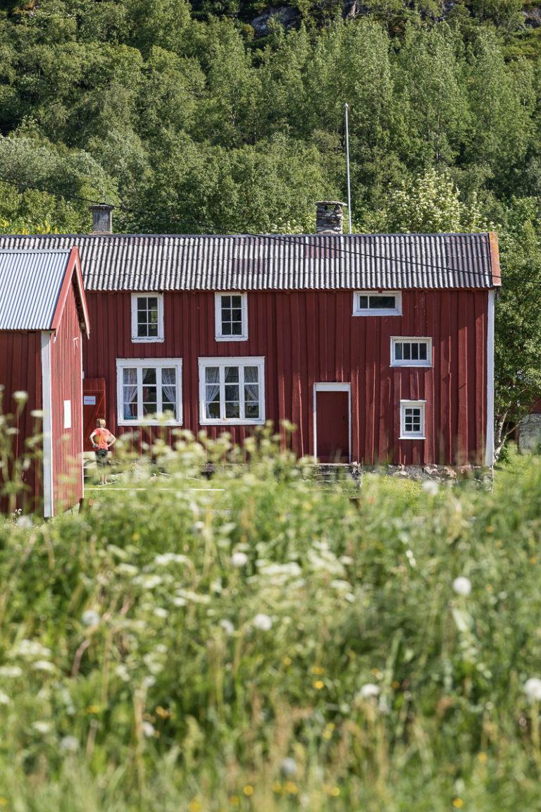 Nordvika gamle handelssted er i dag et musum på øya Dønna. © Kathrine Sørgård
