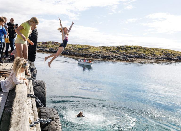 Varmt i lufta, friskt i vannet © Kathrine Sørgård
