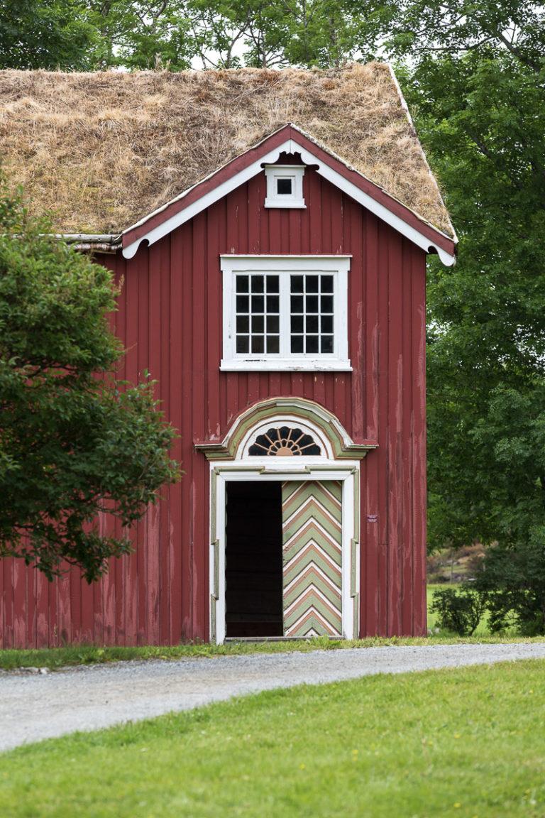 Prestegården på Alstahaug fra 1700-tallet © Katrine Sørgård