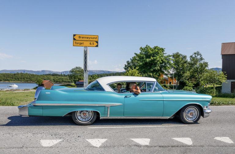 På kjøretøyet skal storfolk kjennes © Kathrine Sørgård