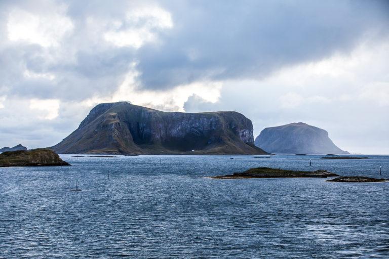 Røst ligger fire timer med ferge fra Bodø © Kathrine Sørgård