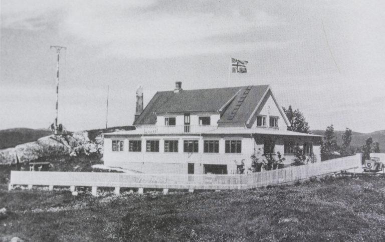 Historisk bilde fra Saltstraumen Hotel