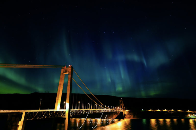 The Kvalsund Bridge © Jim Johansen