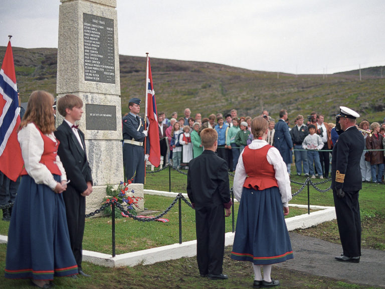 King Harald apologised during his visit in 1992 on behalf of Norway for the lack of recognition the partisans received after the second world war