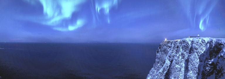 The Northern Lights above the Northern infinity ©Nordisk Film/Scandic-Destination Nordkapp