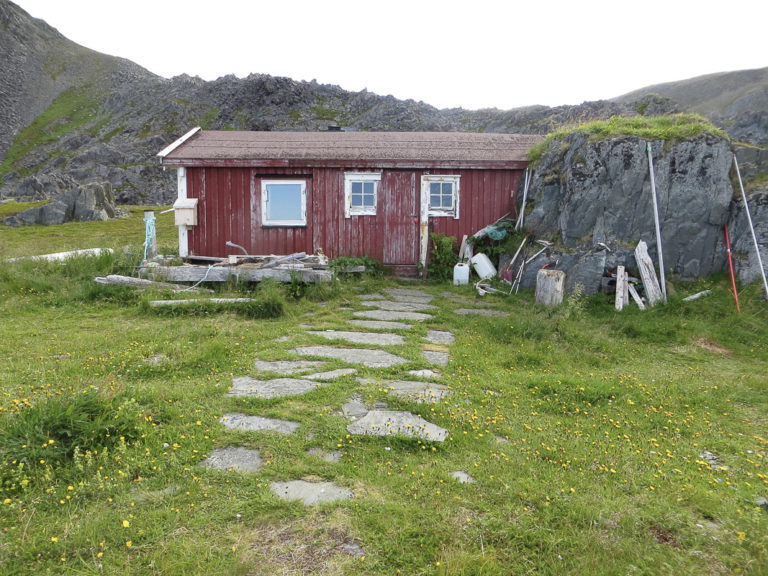 The Bruvollhytta cabin in the bay of Syltevika was used by the partisans (The Partisan Cabin) © Steinar Borch Jensen