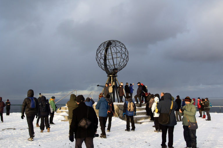 A North Cape tour can be a walk in the park. Sometimes © North Cape Tours