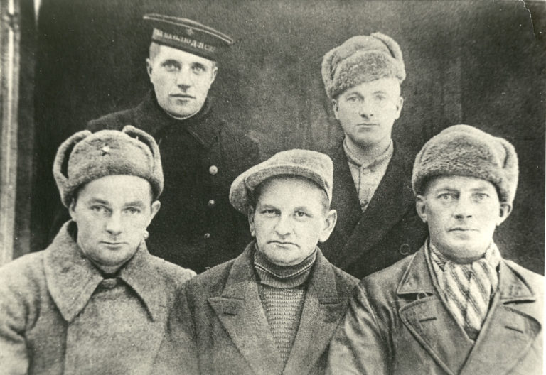 Partisans from the Langbuness team, picture taken 1941 © Kiberg Historielag