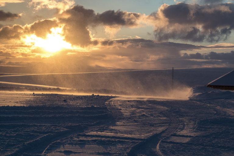 Sun returning to the North Cape on January the 23rd © honningsvagbilder-ved-Kjell-Bendik-Pedersen
