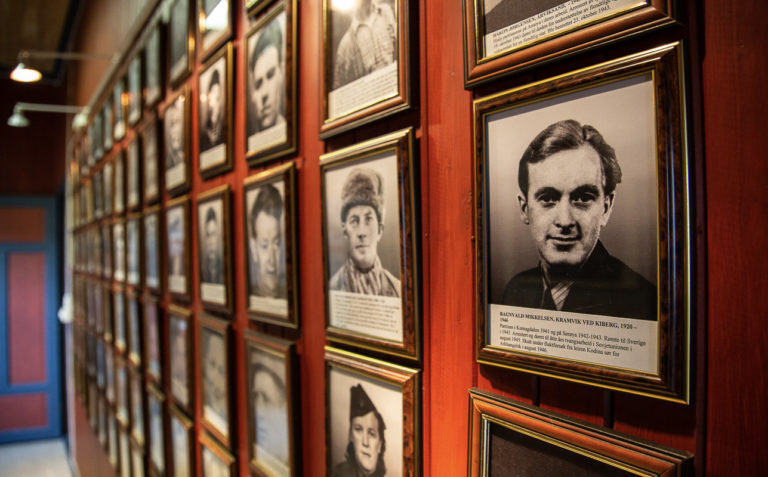 Inside the Partisan Museum you meet the partisans face to face © William Copeland