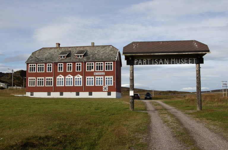 The partisan museum is found in the old school of Kiberg. It's open from the liberation day in May to the liberation day in October © William Copeland
