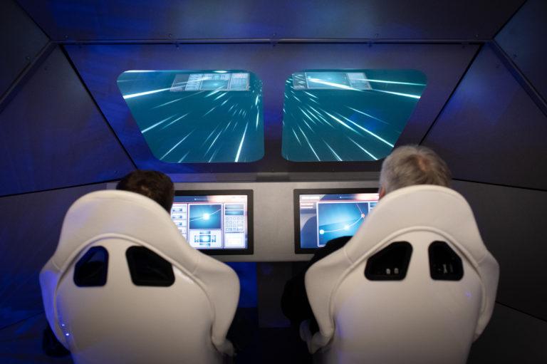 I besøkssenteret Spaceship Aurora garanterer vi utenomjordiske opplevelser for romentusiaster i alle aldre. © Spaceship Aurora