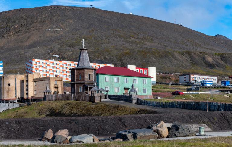 Den fraflytta gruvebyen på Svalbard er «en av ti spøkelsesbyer i verden du må se», ifølge National Geographic.Foto: Jarle Røssland