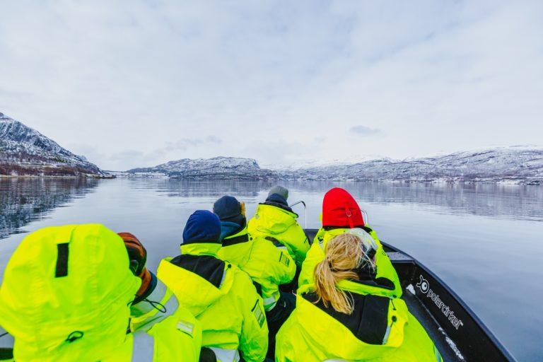 Fjord safari med RIB.  Foto: Mads Suhr Pettersen