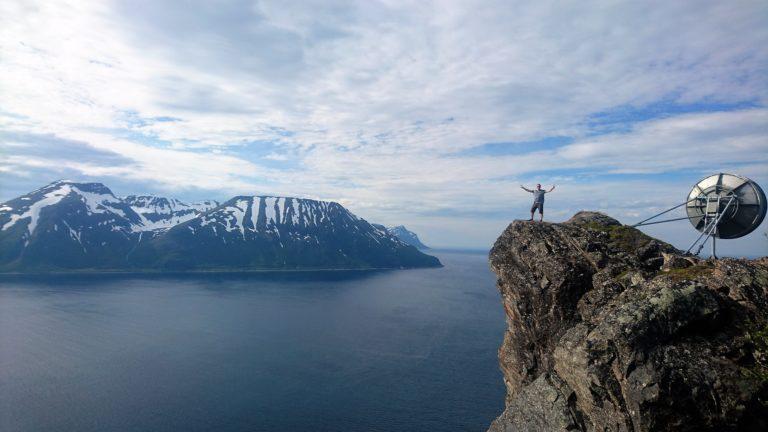 Vandring Skjervøy. Foto: Georg Sichelschmidt