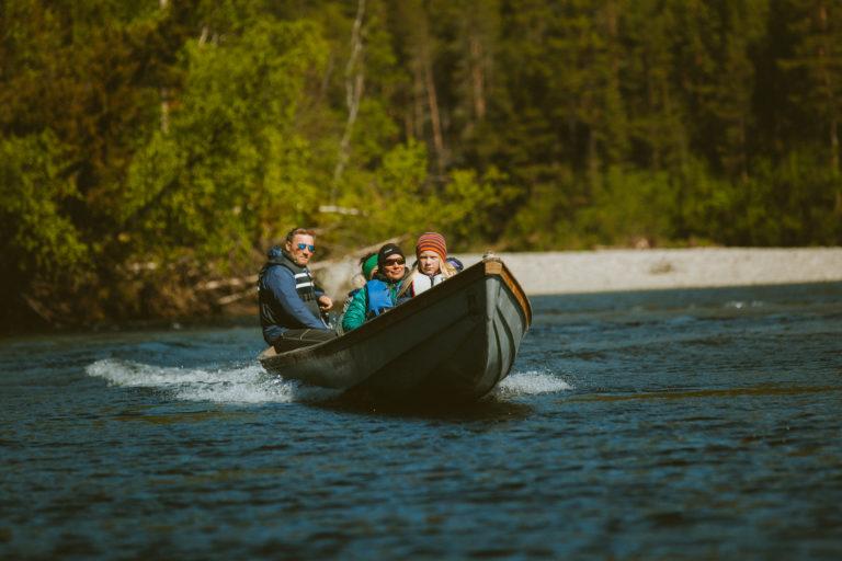 Reisa elvebåt  I Svartfoss Adventure. Foto: Magy Media