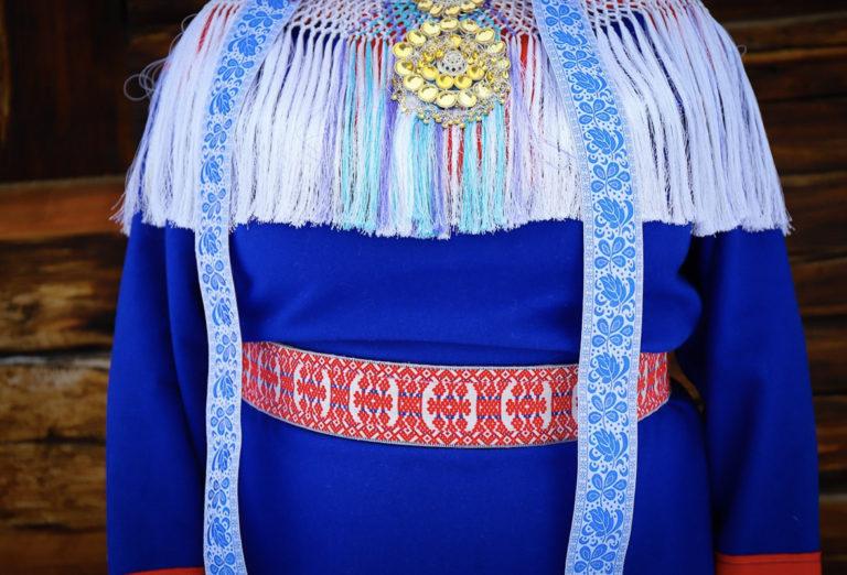 Tradisjonelle klær fra Karasjok-området © Paula Rauhala/SVD