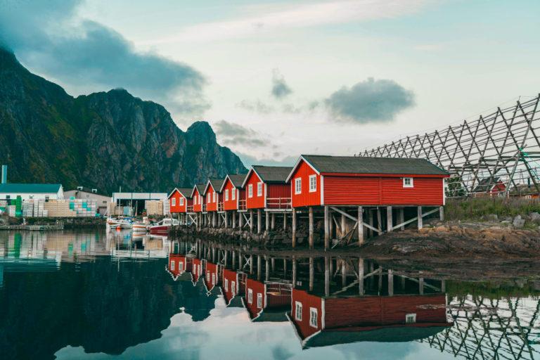 Foto: Svinøya Rorbuer