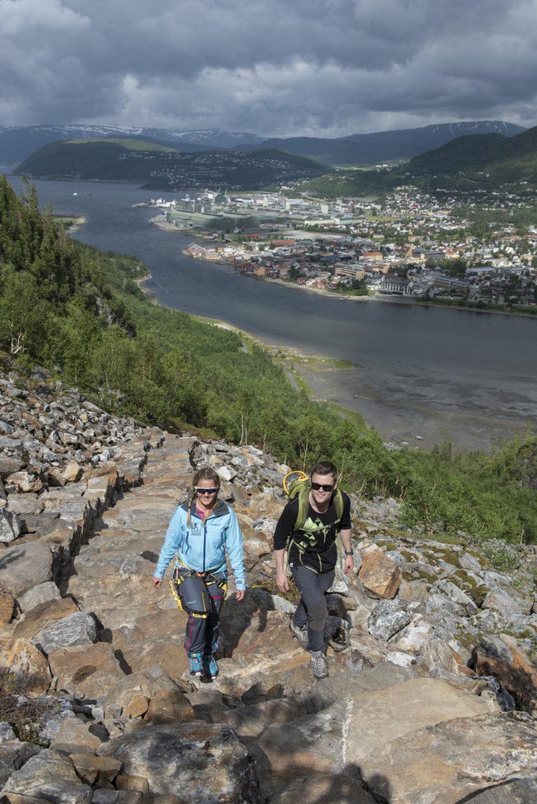 Sherpatrapp. Foto:Terje Rakke NordicLife Helgeland Reiseliv