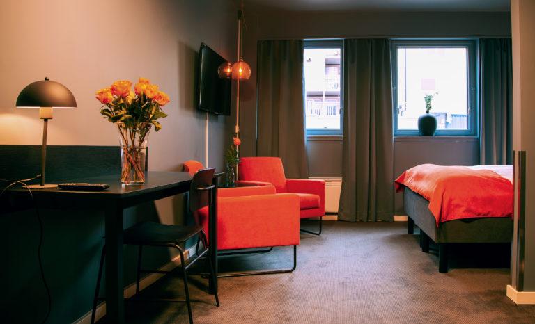 Dobbeltrom. Foto: Narvik Hotel Wivel