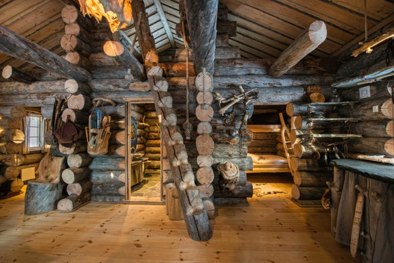 Engholm Husky hytte.
