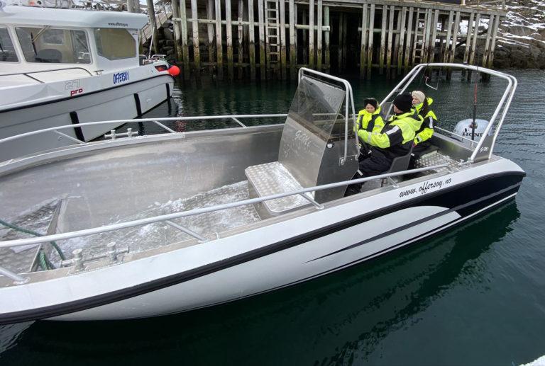 Du kan leie båt og dra ut på egen hånd, eller bli med vår lokalkjente skipper