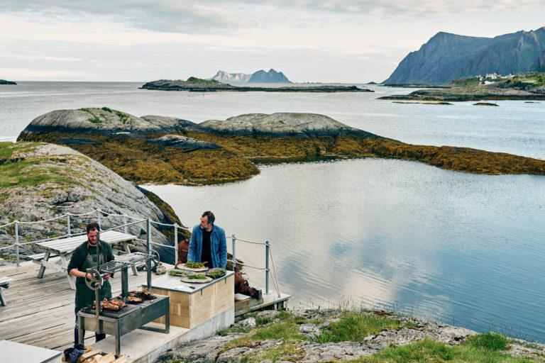 Holmene Lofoten. Foto: Christian Banfield