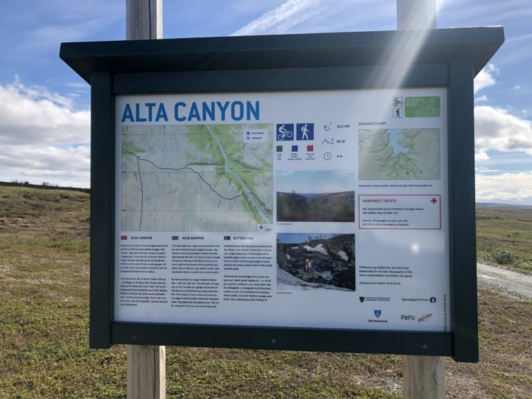 Alta Canyon. Foto: Gargia Lodge