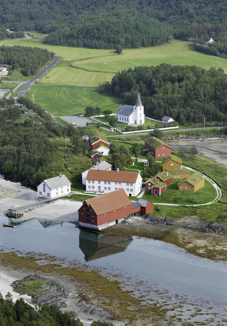 Kjerringøy is a picturesque location © Nordlandsmuseet