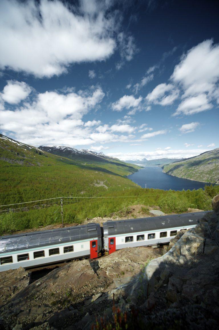 Ofotbanen. Foto: Kjetil Janson / Visit Narvik