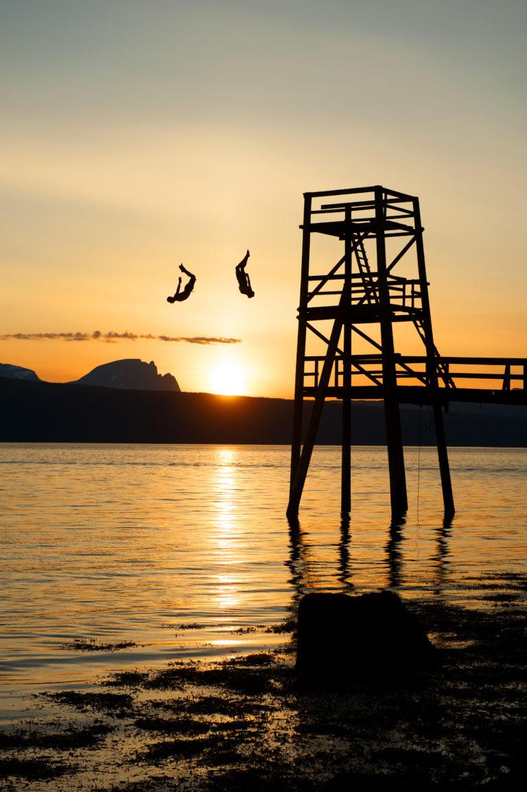 Ornesvika.  Foto: Rune Dahl / Visit Narvik