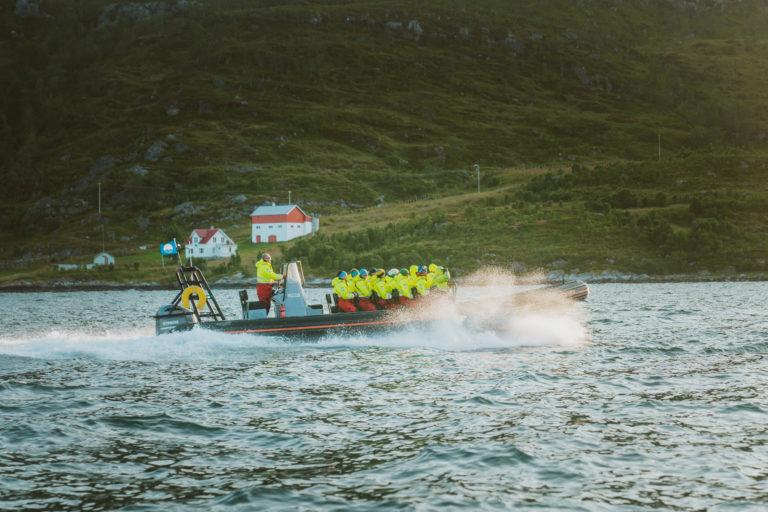 RIB med Tromsø Friluftsenter. Foto: Vegard Stien