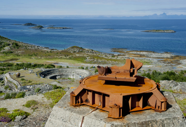 Batterie Dietl. Foto: Nordlandsmuseet